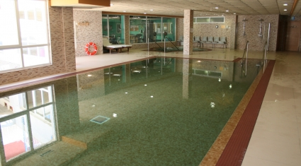 Servicio de hidroterapia -spa